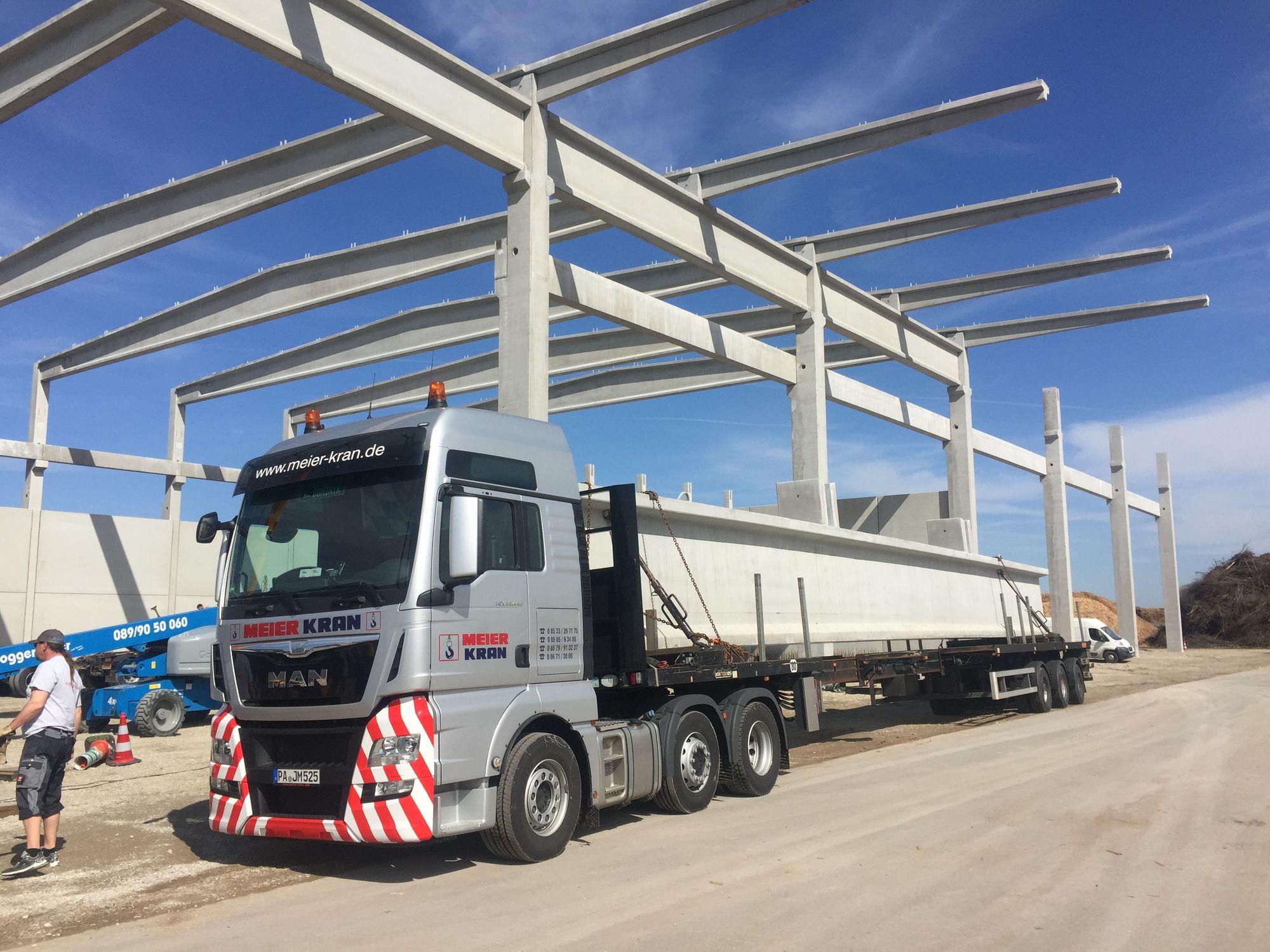 Schwertransport Niederbayern - Ihr Schwertransportunternehmen