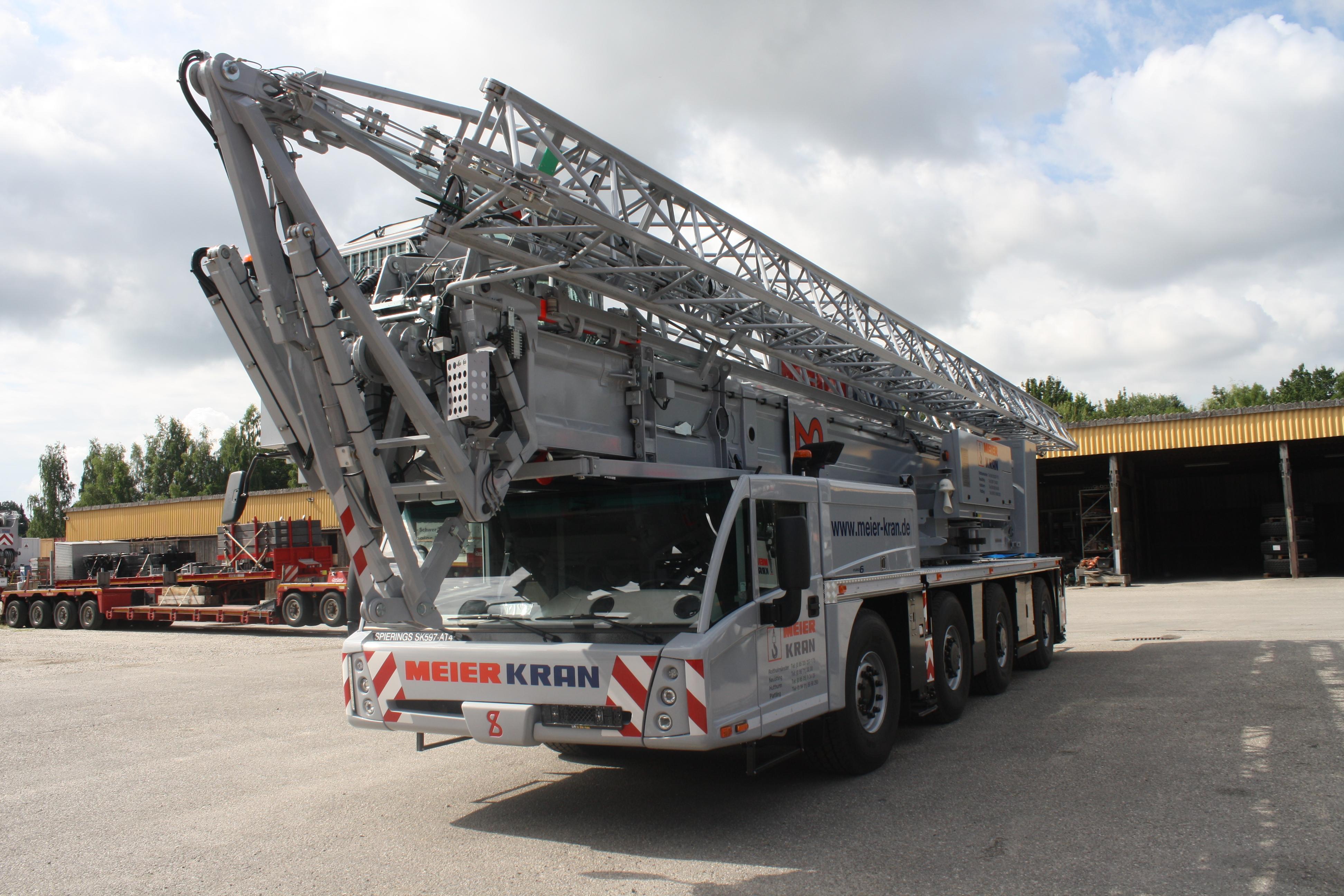 Mobilbaukran Spierings SK597 AT-4